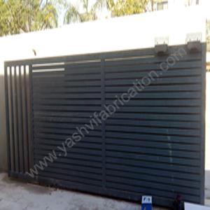 Sliding Main Gate Design India on Design Home Modern House Plans